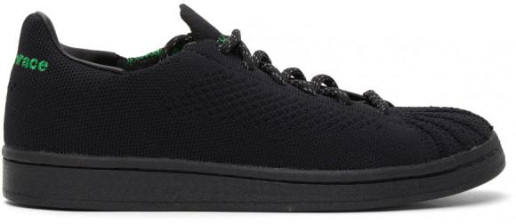 adidas x Pharrell Williams Superstar Primeknit Core Black/ Core Black/ Vivid Green - GX0195