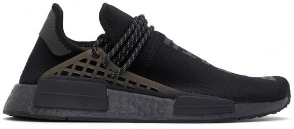 adidas Pharrell Williams HU NMD Shoes Core Black Mens - GX2487