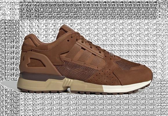 adidas ZX 10,000 C Schokohase Shoes Wild Brown Mens - GX7576