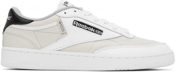 Reebok Classics White CRITIC Edition Club C 85 Sneakers - GX8537
