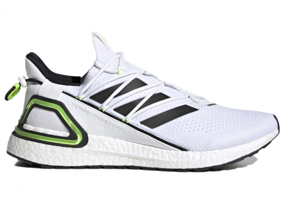 adidas Ultra Boost 20 Lab Core White Signal Green - GY8108