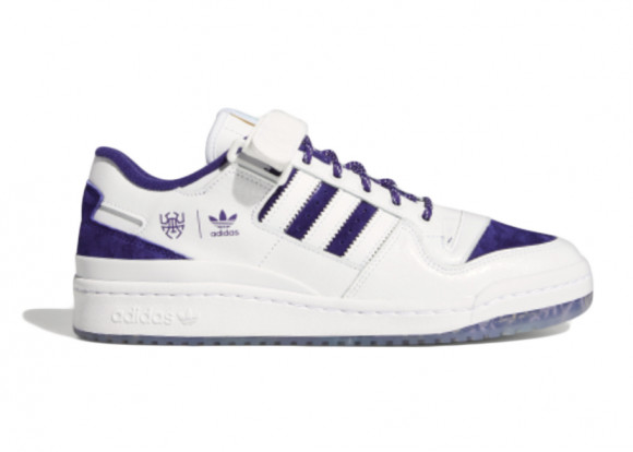 adidas Forum Low Donovan Mitchell Shoes Cloud White Mens - GY8287