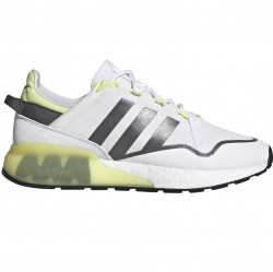 adidas ZX 2K Boost Pure Ftw White/ Grey Five/ Purple Yellow - GZ7729