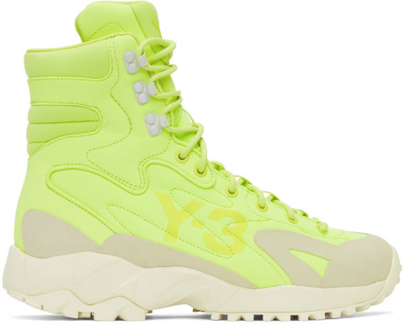 Y-3 Notoma Semi Frozen Yellow/ Off White/ Clear Brown - GZ9165