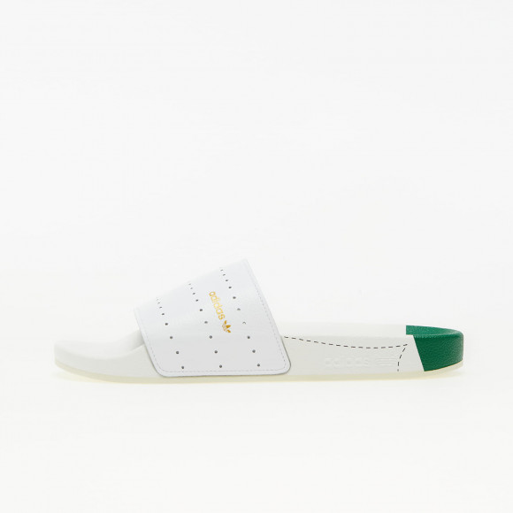 adidas Adilette Ftw White/ Green/ Ftw White - H00571