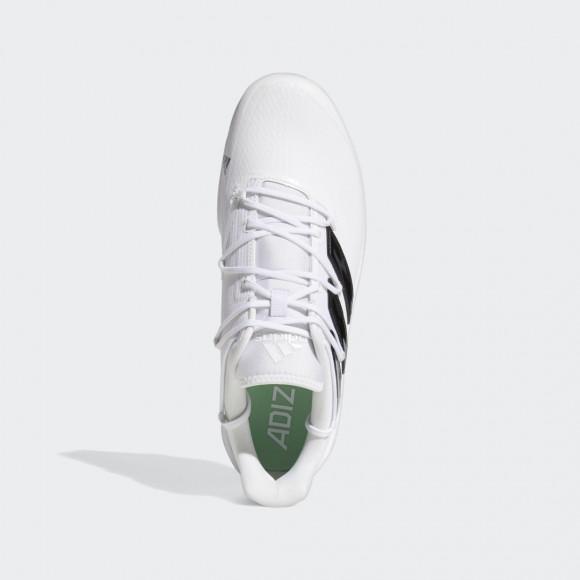 adidas Adizero Afterburner 8 Cleats Cloud White Mens - H00981