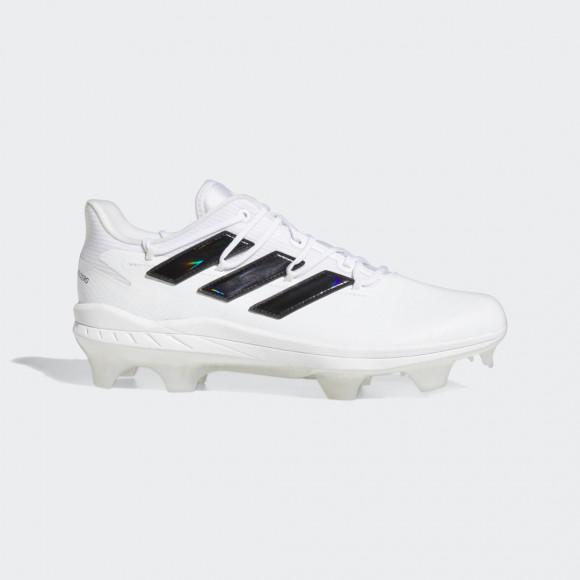 adidas Adizero Afterburner 8 Pro TPU Cleats Cloud White Mens - H00990
