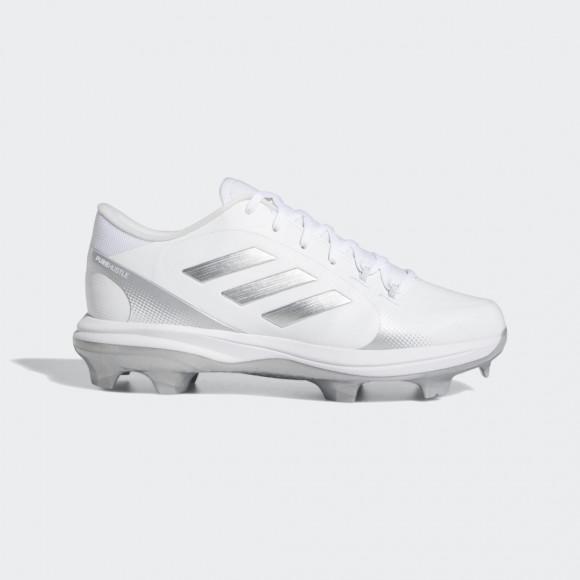 adidas PureHustle 2 TPU Cleats Cloud White Womens - H02347
