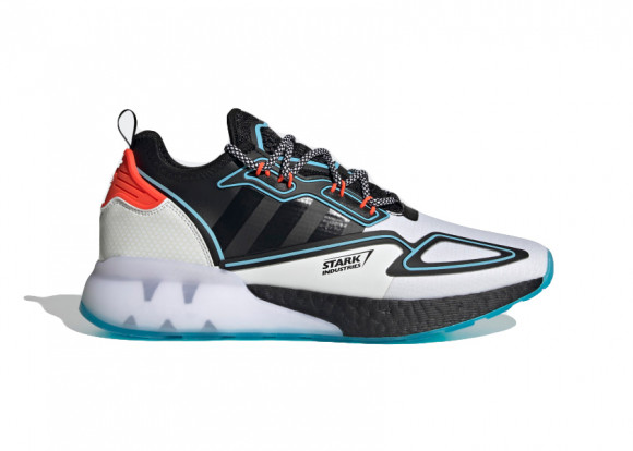 adidas ZX 2K Boost Marvel Shoes Cloud White Mens - H02561