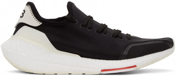 Y-3 UltraBOOST 21 Black/ Red/ Core White - H67476