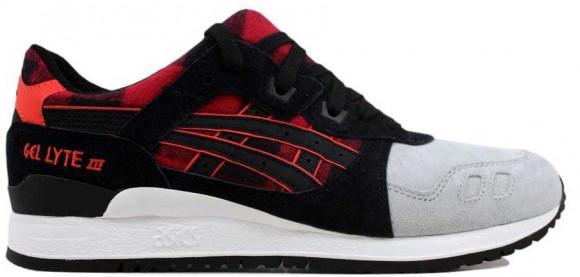 ASICS Gel Lyte III 3 Red Black - H6Y0L-2490