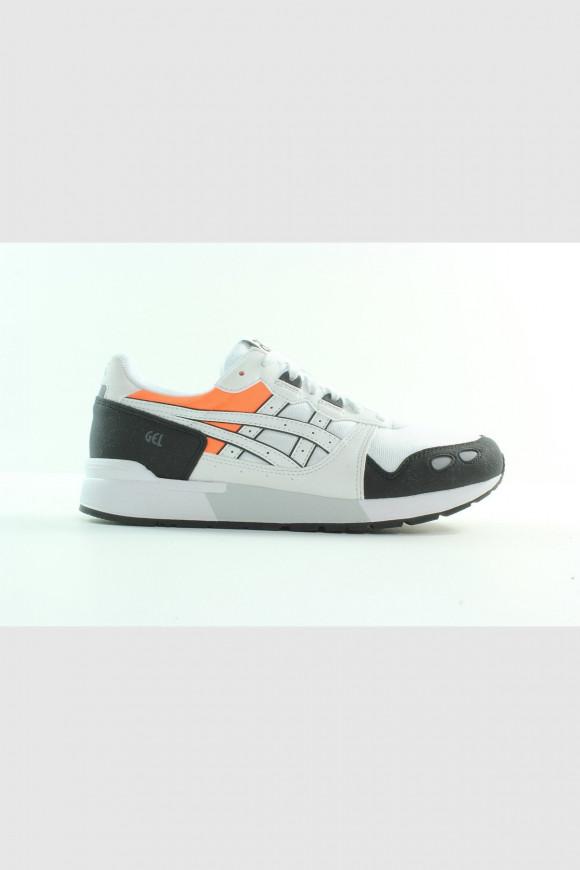 Asics - Weißer GEL-LYTE OG Sneaker mit orangen Details H7W4Y-101 - H7W4Y-101