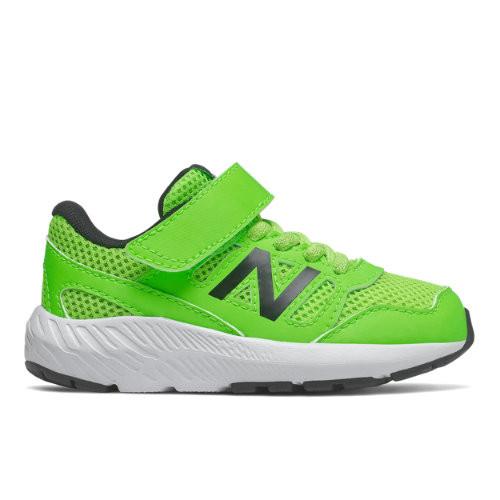 New Balance Enfants 570 Textile/Synthetic - Green/Black, Green ...