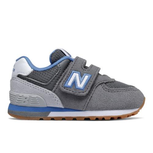 New Balance Enfant 574 Sport Pack - Grey, Grey - IV574ATR