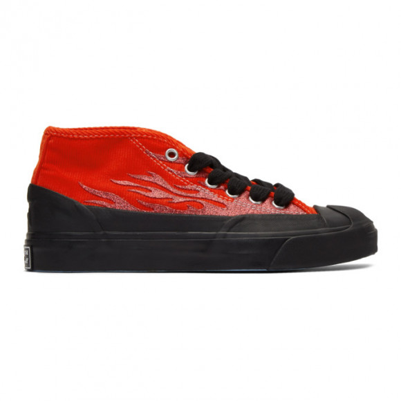 Converse Red A$AP Nast Edition Jack Purcell Chukka Sneakers - JACK-PURCELL-CHUKKA-M