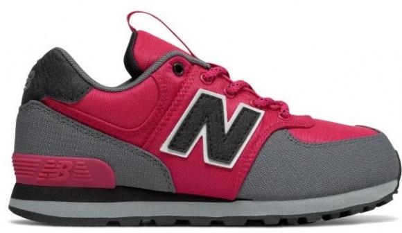 New Balance 574 Pink Grey (GS) - KL574QGG