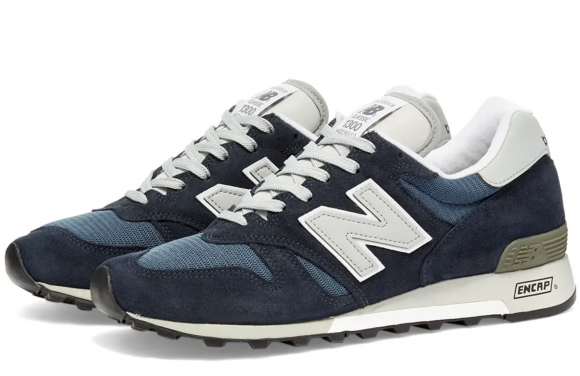 Homme New Balance Made in US 1300 - Navy/NB Blue, Navy/NB Blue ...