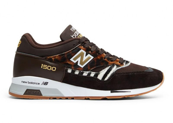 Uomo New Balance 1500 Made in UK - Brown/Black/White, Brown/Black ...