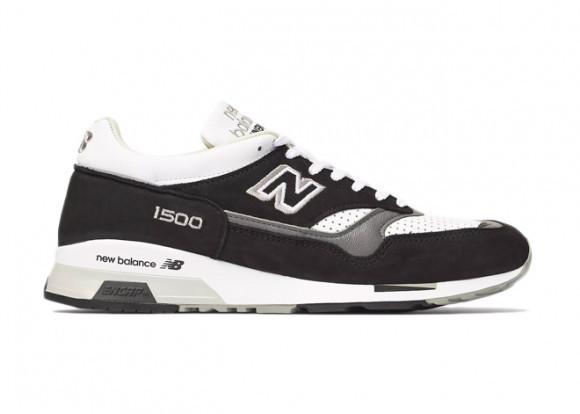Uomo New Balance MADE IN UK 1500 - Black/White, Black/White - M1500KGW
