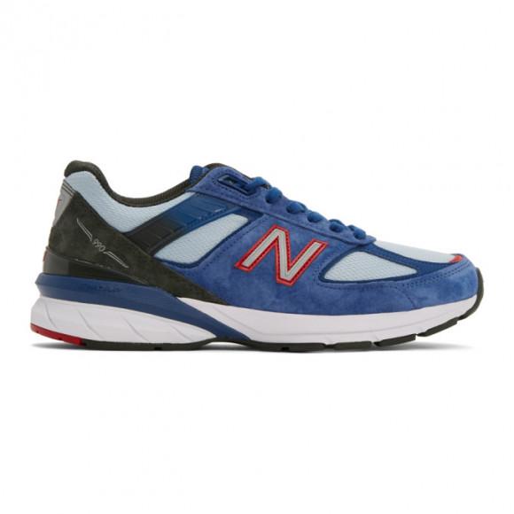 New Balance Mens New Balance 990v5 - Mens Shoes Blue/Red Size 07.5 - M990NC5