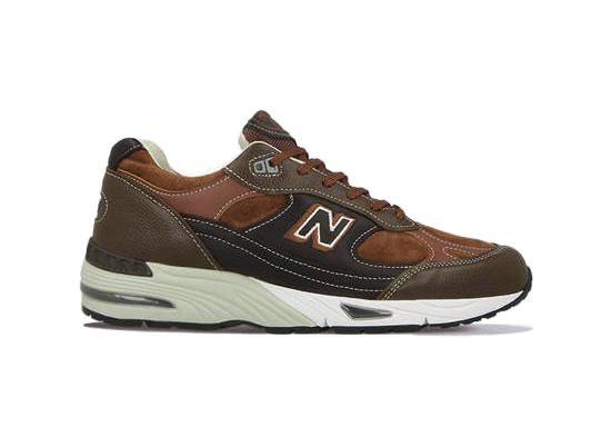 New Balance 991 Made in UK Brown - M991BTG
