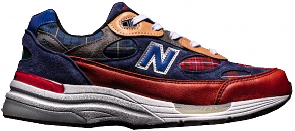 New Balance 992 Concepts Plaid - M992AD