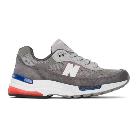 New Balance Grey Made in US 992 Sneakers - M992AG
