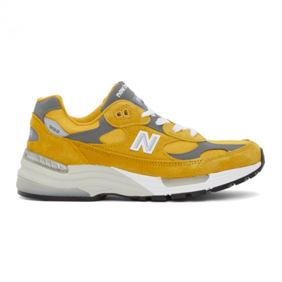 New Balance 992 Yellow Grey - M992BB