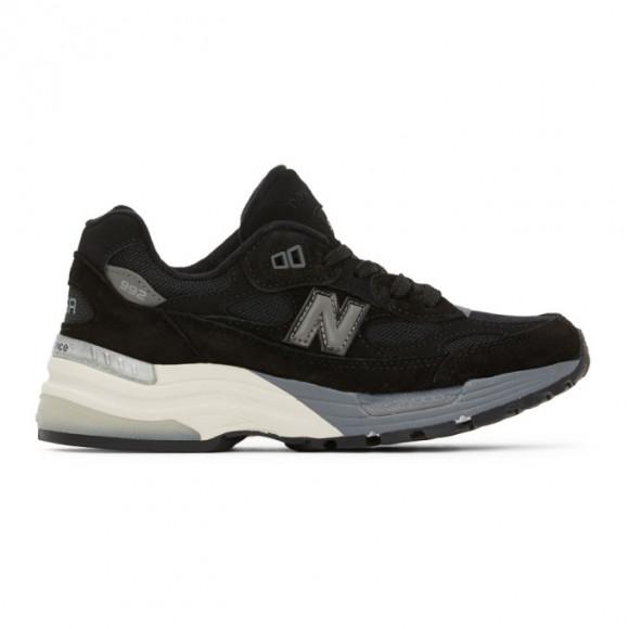 New Balance 992 Black Grey (Made in USA) - M992BL