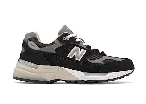 New Balance 992 Black Suede - M992EB