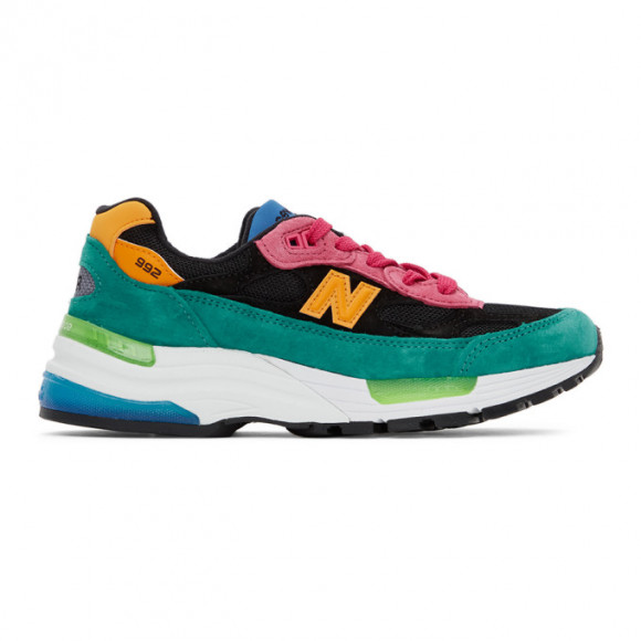 Homme New Balance Made in US 992 - Tidepool/Pink, Tidepool/Pink ...