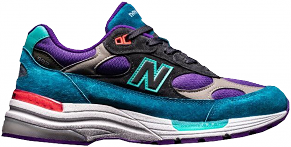 New Balance 992 Concepts Purple Grey Green - M992TC