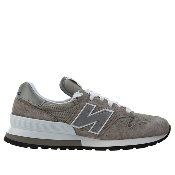 New Balance 995 Made In USA 'Grey Silver' Grey/Silver/White Marathon Running Shoes/Sneakers M995GR