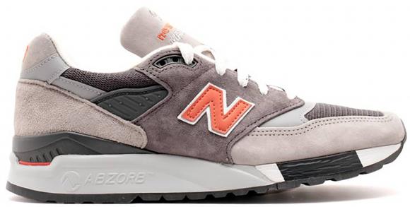 New Balance 998 Grey Orange - M998GGO