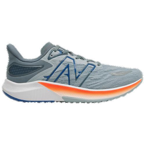 New Balance FuelCell Propel V3 - Men's Running Shoes - Light Slate / Dynamite - MFCPRLG3--D
