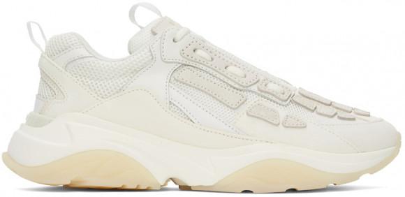 AMIRI Off-White Bone Runner Sneakers - MFS001-121