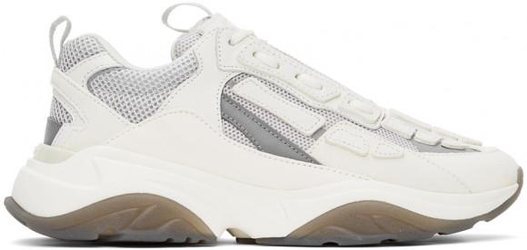AMIRI White & Grey Bone Runner Sneakers - MFS001-122