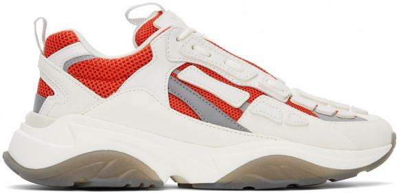 AMIRI Off-White & Red Bone Runner Sneakers - MFS001-642