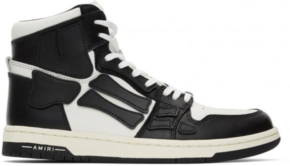 AMIRI Black & White Skel Top Hi Sneakers - MFS002-042