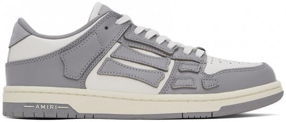 AMIRI Grey & White Skel Top Low Sneakers - MFS003-043