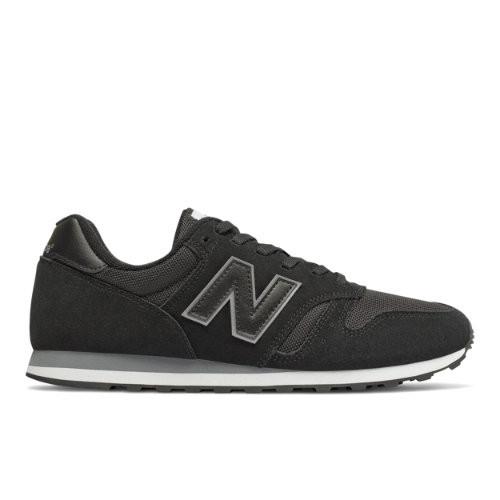 Homme New Balance 373 - Black/Dark Grey, Black/Dark Grey - ML373BBK