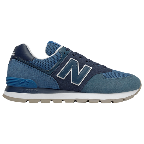New Balance 574 Rugged - Men's Running Shoes - Blue / Navy / White - ML574DCL