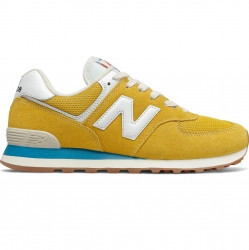 new balance 574 uomo yellow