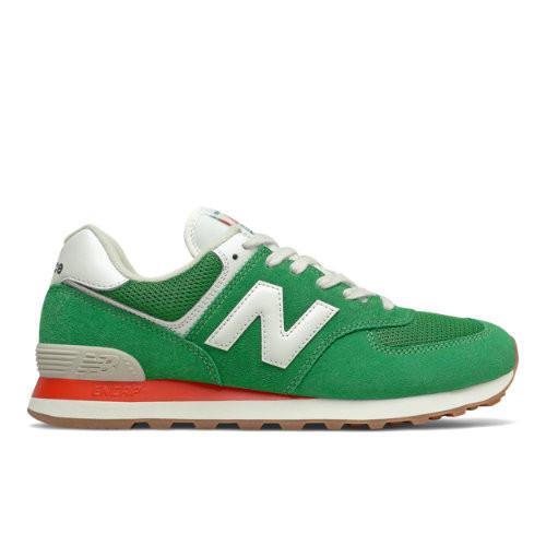 Homme New Balance 574 - Varsity Green/Velocity Red, Varsity Green ...