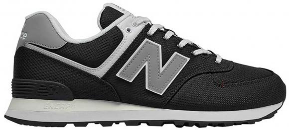 New Balance 574 Summer Mesh Black Grey - ML574SCI