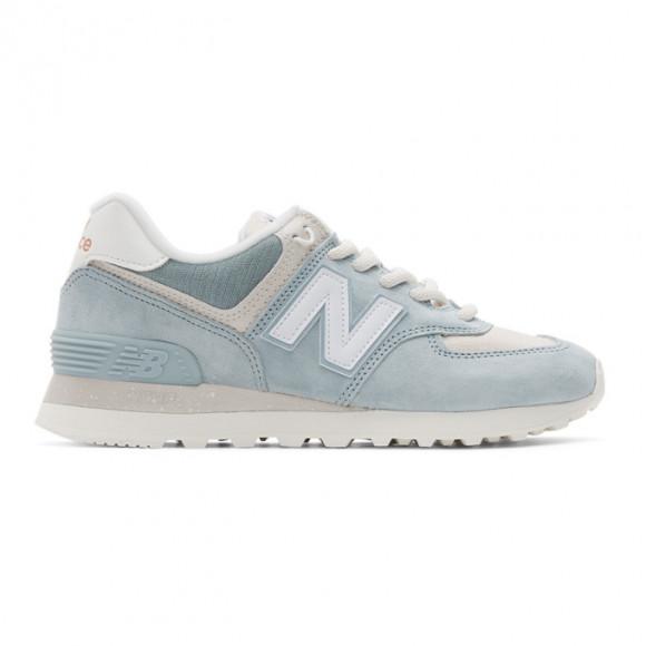 New Balance Blue 574 Sneakers - ML574SPX