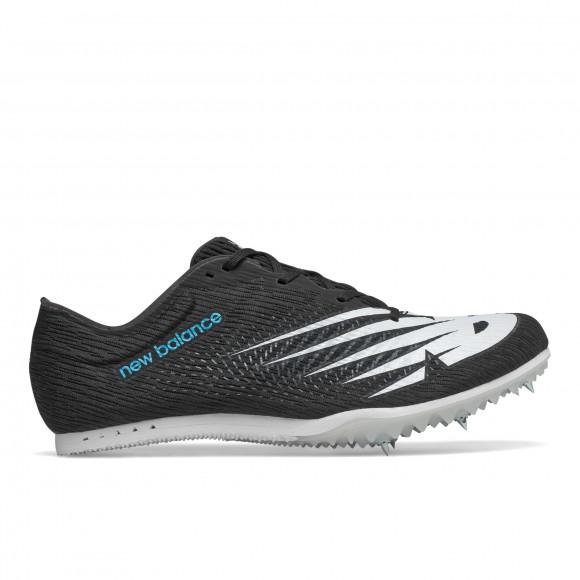 New Balance MD500 V7 - Men's Mid Distance Spikes - Black / White - MMD500X7