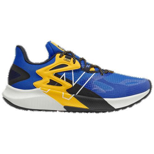 New Balance FuelCell Propel RMX - Men's Running Shoes - Cobalt / Team Gold - MPRMXCC-D