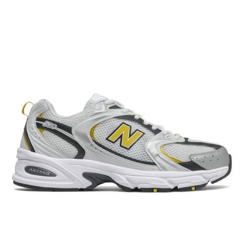 Uomo New Balance 530 - Munsell White/Yellow, Munsell White/Yellow ...