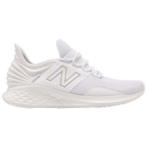 New Balance Fresh Foam Roav - Men's Running Shoes - White / White - MROAVJW-2E